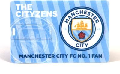 Manchester City F.C. Credit Card 8  GB OTG Drive