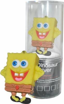 Dinosaur Drivers Sponge Bob Smile 32 GB Pen Drive(Yellow) at flipkart