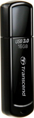 Transcend Jet Flash 700 16 GB USB 3.0 Pen Drive(Black)  available at flipkart for Rs.830