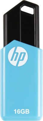HP V150w 16 GB Pen Drive(Black, Blue) at flipkart