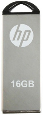 HP V-220 W 16 GB Utility Pendrive(Silver)  available at flipkart for Rs.599