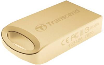 Transcend JetFlash 510 32 GB Utility Pendrive (Gold)