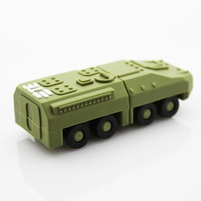 Microware Military Force Tank 16  GB Pen Drive Green