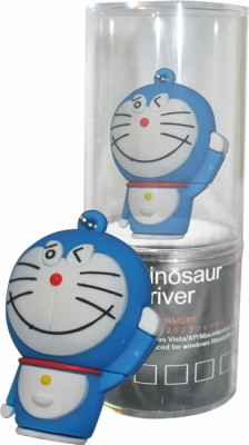Dinosaur Drivers Doraemon New 16 GB Pen Drive(Blue)