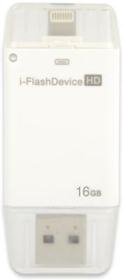 Your Deal 16GB i Flash Drive USB OTG Memory Stick 16 GB Pen Drive(White)