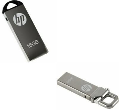 18a6f3918bc 15% OFF on HP v220 and v250w 16 GB Pen Drive(Silver) on Flipkart ...