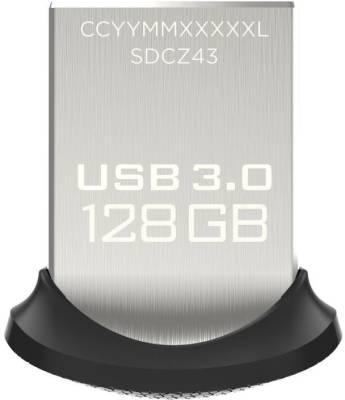 Sandisk Ultra Fit 128 GB USB 3.0 Pen Drive Image
