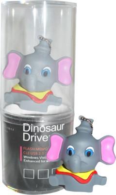 Dinosaur Drivers God Ganesha 16  GB Pen Drive Multicolor