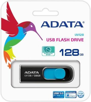 Adata UV128 128 GB  Pen Drive (Blue)