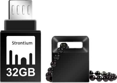 Strontium 32 GB USB 3.1 32 GB OTG Drive(Black, Type A to Micro USB)