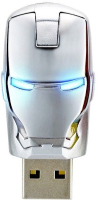 Quace Iron Man Silver 32 GB Pen Drive(Multicolor)  available at flipkart for Rs.1290