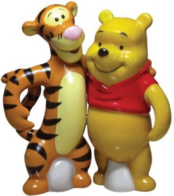 Westland Giftware Life According To Eeyore Pooh And Tigger 4Inch Magnetic Salt And Pepper Shakers at flipkart
