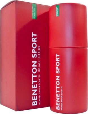 United Colors of Benetton Sport EDT For Women - 100 ml