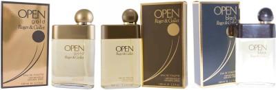 Roger & Gallet Open, Open gold and Open Black Eau de Toilette  -  300 ml(For Boys)