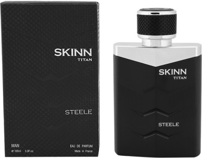 Skinn by Titan Steele EDP  -  100 ml(For Men)  available at flipkart for Rs.1820