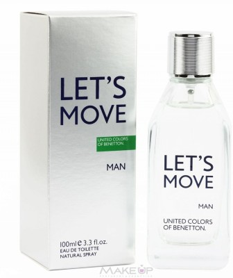 United Colors of Benetton Lets Move EDT For Men - 100 ml