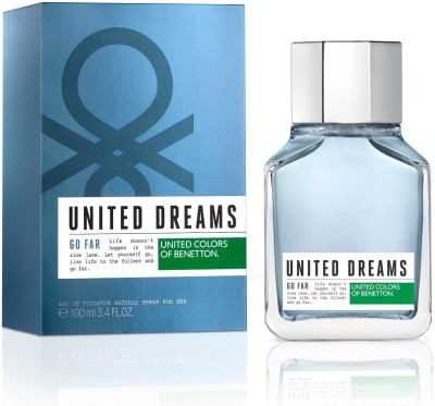 United Colors of Benetton United Dreams GO FAR Perfume For Men - 100 ml