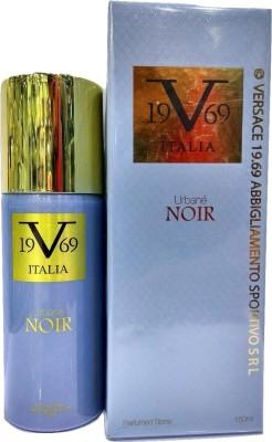 Versace Italia 19.69 Urbane NOIR Perfumed Spray Eau de Parfum  -  150 ml(For Men & Women)