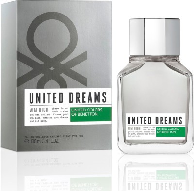 Benetton United Dreams Aim High Eau de Toilette For Men - 100 ml