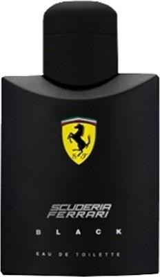 Ferrari Scuderia Black EDT  -  125 ml(For Men)  available at flipkart for Rs.1476