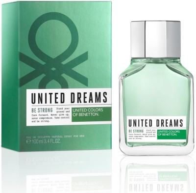 Benetton United Dreams Be Strong Eau de Toilette  -  100 ml(For Men)
