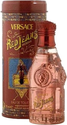 Versace Red Jeans EDT Spray For Women, 75 ml