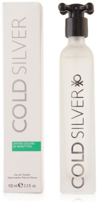 United Colors of Benetton Cold Silver EDT For Men - 100 ml