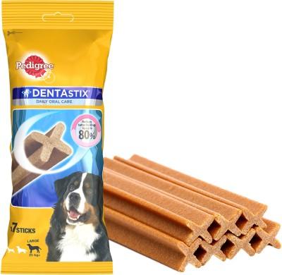 Pedigree Dentastix Large Breed Weeky Pack Dog Treat(270 g, Pack of 1)