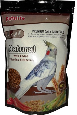 Taiyo Petslife Natural (M) 1kg Nuts 1000 g Dry Bird Food