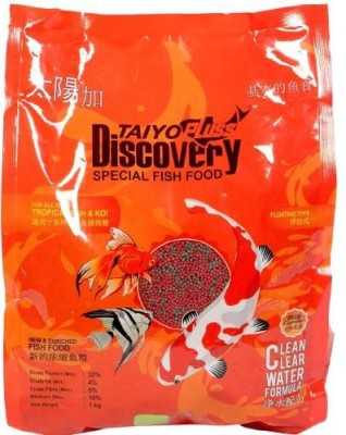 Taiyo Taiyo Pluss Discovery Special Fish Food, 1Kg 1 kg Dry Fish Food