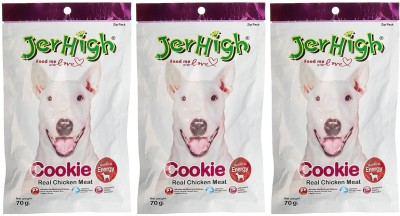 JerHigh Cookies Chicken Dry Dog Food(Pack of 3)