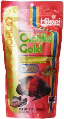 Hikari Cichlid Gold Mini Pellet Fish Food 250 gm
