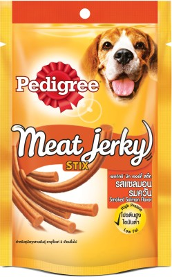 Pedigree Meat Jerky Stix With Smoked Salmon Dog Food (60 gm)
