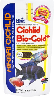 Hikari Cichlid Bio Gold mini pellet floating type Fish Food(250 g)
