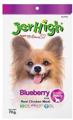 JerHigh 3 Pack of Blue 70gm Berry 210 g Dry Dog Food(Pack of 3)
