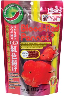 Hikari Blood Red Parrot Mini Fish Food 333 gm