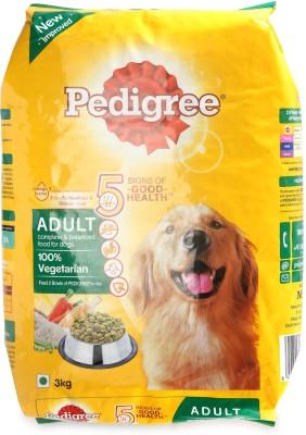 Pedigree Ped Adult Vegetable, Milk, Rice 3000 g Dry Dog Food