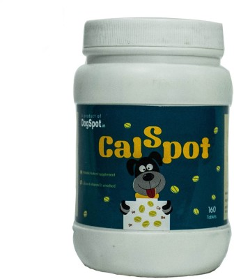 Dog Spot Calcium Supplement Tablet(160 tablets)  available at flipkart for Rs.550