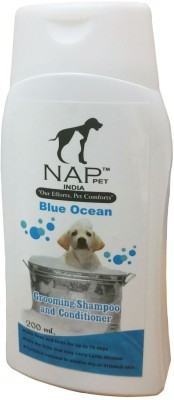 Nappets India Conditioning Blue Ocean Dog Shampoo(200 ml)  available at flipkart for Rs.170