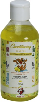Robust Allergy Relief, Conditioning Lemon, Citrus Dog Shampoo(200 ml)  available at flipkart for Rs.170