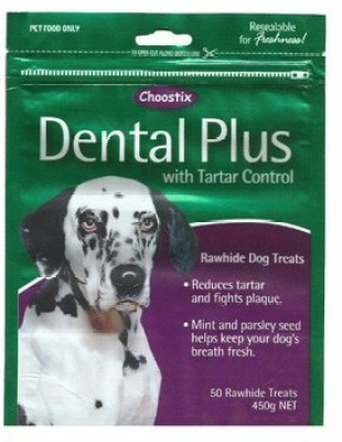 Choostix Dental Plus With Tarter Control Chicken Dog Treat(450 g, Pack of 1)
