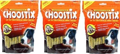 Choostix Treat Chicken Dog Treat(450 g, Pack of 3)