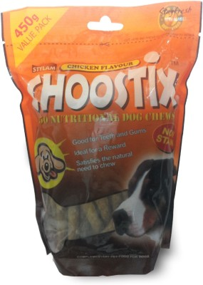 Choostix Treat Chicken Dog Treat(450 g, Pack of 4)