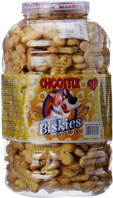 Choostix Biscuit Cheese Dog Treat(1 kg, Pack of 1)