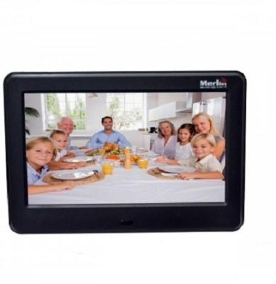 Merlin Digital Photo Frame (7inch) 7 inch Digital(32 GB, Black)