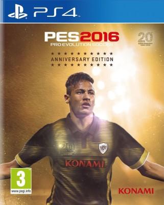 Pro Evolution Soccer 2016 (Anniversary Edition)(for PS4) at flipkart