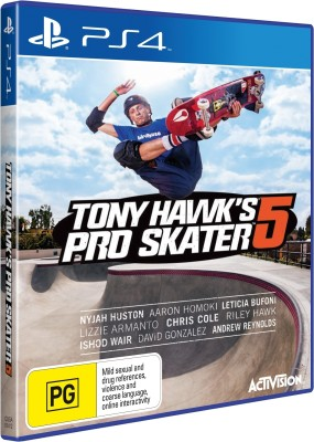 Tony Hawk's Pro Skater 5(for PS4) at flipkart