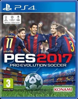 Pro Evolution Soccer 2017(for PS4) at flipkart