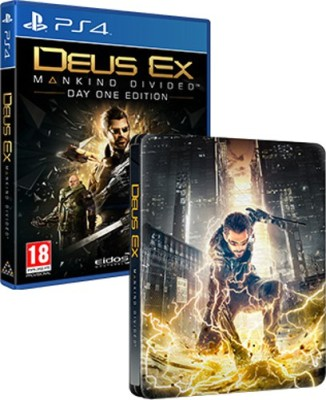Deus Ex Mankind Divided (Steelbook Edition)(for PS4) at flipkart
