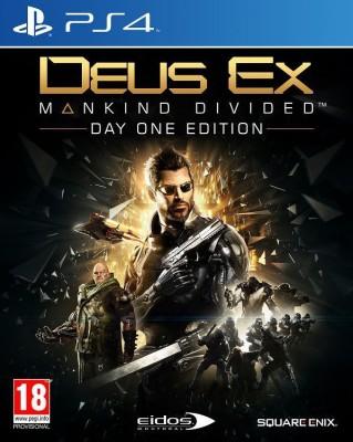 Deus Ex : Mankind Divided(for PS4) at flipkart